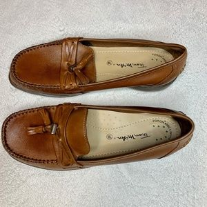 Thom McAn Brown Leather Loafers